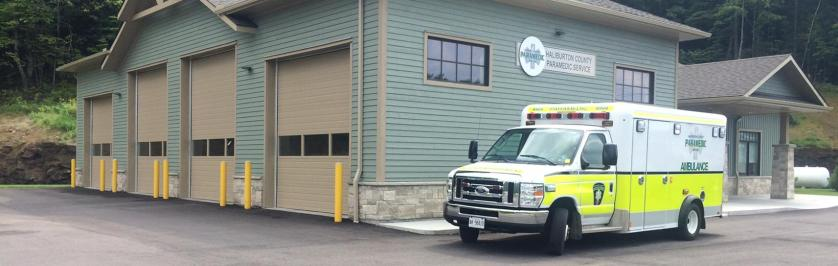 Photo of Haliburton EMS Station