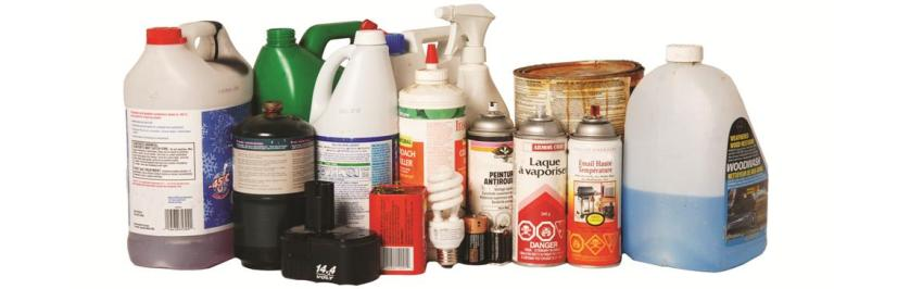 Photo of Household Hazardous Waste Products