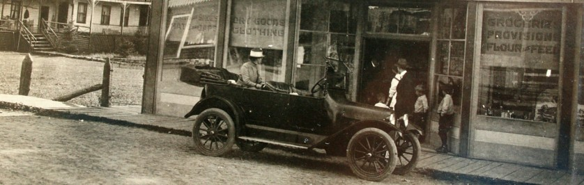 Historical Photo of Dorset Business at turn of the century