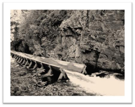 Photo of Hawk Lake Log Chute